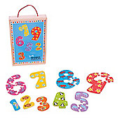 Bigjigs Toys 1-9 Number Puzzles