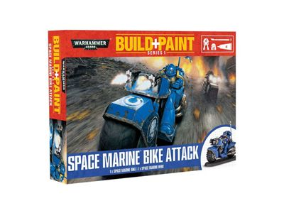 Revell Warhammer 40000 Space Marine Bike Attack