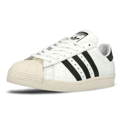 adidas Originals Womens Superstar 80s Snakeskin Print Trainers - 3.5