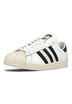 adidas Originals Womens Superstar 80s Snakeskin Print Trainers - Yellow