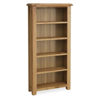Cantebury Oak Large Bookcase
