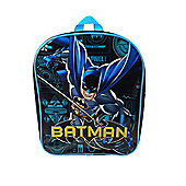 Batman 'Power' Pvc Front School Bag Rucksack Backpack