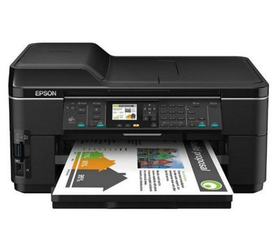 Epson WorkForce WF-7515 (A3+) Colour Inkjet Multifunction Wireless Printer (Print/Copy/Scan/Fax) 34ppm (Mono) 34ppm (Colour) Euro West