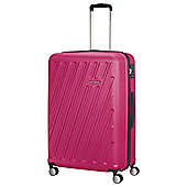 American Tourister HyperCube 4-Wheel Pop Raspberry Medium Suitcase