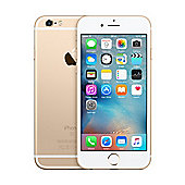 Tesco Mobile iPhone 6s 128GB Gold
