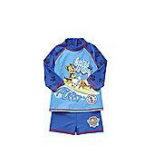 Nickelodeon Paw Patrol Slogan UPF 50+ Surf Suit - Blue