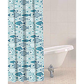 Sabichi Baby Fish PEVA Shower Curtain