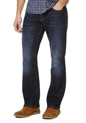 F&F Vintage Wash Loose Jeans 28 Waist 32 Leg Dark wash