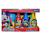 Mickey Mouse 'Friends' 7 Piece Bowling Set Plastic Toys
