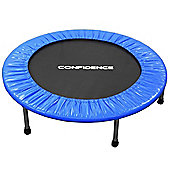 Confidence Fitness 40 Inch / 1 Metre Mini Trampoline/Rebounder