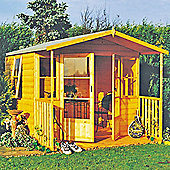 Milton Summerhouse With Veranda 8x11overall by Finewood