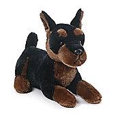15cm Gund Ebony Dog Soft Toy