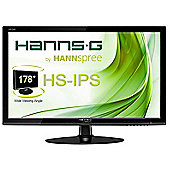 "Hannspree Hanns.G HS 245 HPB 23.8"" LCD Monitor Full HD HS-IPS Matt Black"