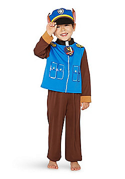 Nickelodeon Paw Patrol Chase Fancy Dress Costume - Blue