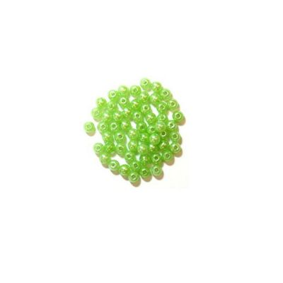 Craft Factory Pearls 4mm Lime Green