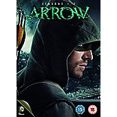 Arrow Seasons 1-2 (DVD)