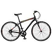 "Claud Butler Urban 300 22"" Hybrid Bike 700c Alloy Frame"