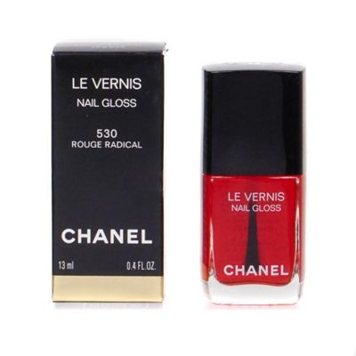 Chanel Le Vernis Nail Gloss Red Polish 530 Rouge Radical