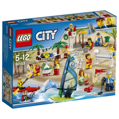 LEGO City Town People Pack ? Fun At The Beach 60153