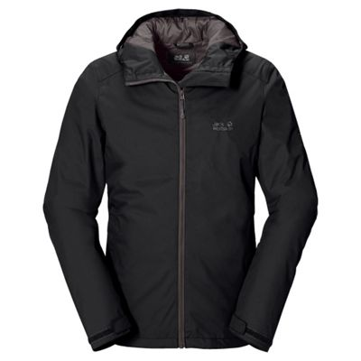 Jack Wolfskin Mens Chilly Morning Jacket Black 2XL