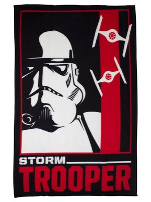 Star Wars Stormtrooper Fleece Blanket
