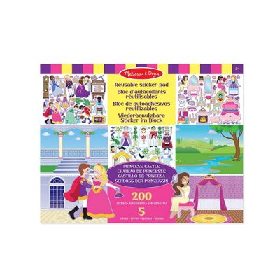 Melissa & Doug Sticker Pad - Princess Castle