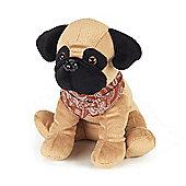 Intelex Cozy Microwavable Pets Pugsy the Pug Plush Toy