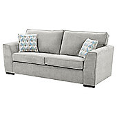 Boston Large Sofa, Light Grey