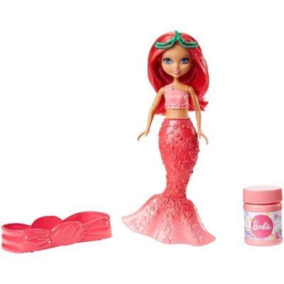 Barbie Dreamtopia Soap Bubbles and Fun Mermaid Red