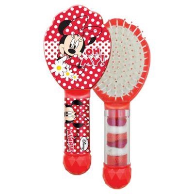 Disney Minnie Hair Brush & 6 Hair Bands