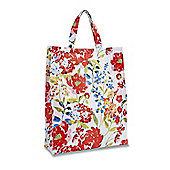 Cooksmart Floral Romance Medium PVC Shopping Bag
