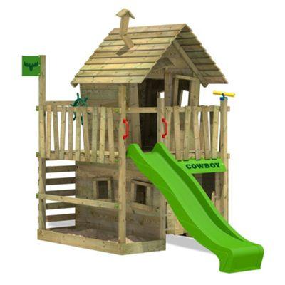 Fatmoose CountryCow Maxi XXL Climbing Frame With Apple Green Slide