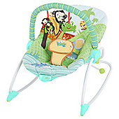 Bright Starts Peek A Zoo Baby Rocker