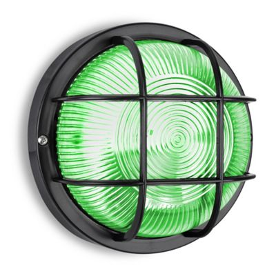 Buy Pendle Ip44 Round Led Bulkhead Light In Black With 4w