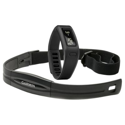 Garmin Vivofit Fitness Tracker, with additional Heart Rate Monitor band - Black