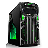 Cube Epic VR Ready Gaming PC Intel Core i5 Quad Core with Geforce GTX 1060 Graphics Card Intel Core i5 Seagate 2Tb SSHD with 8Gb SSD Windows 10 GeForc