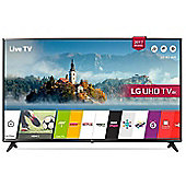 LG UJ630  Inch 4K Ultra HD Smart LED TV with Freeview Play - Gold