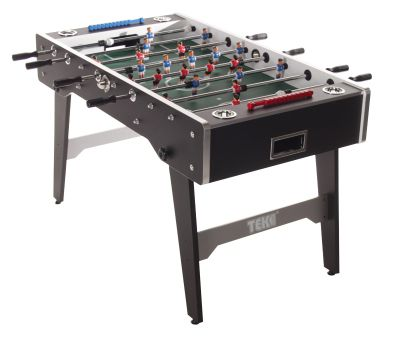 Tekscore Black Finish Folding Leg Football Table