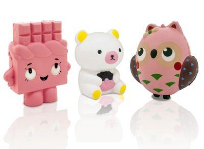 Squishems Set of 3 Jumbo Character Squishies