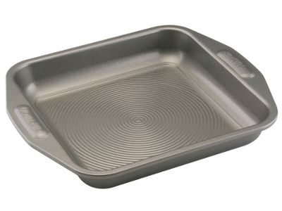Meyer 51184 Circulon N/S Sq.Cake Tin 9In