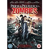 Pride & Prejudice & Zombies DVD