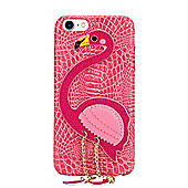 iPhone 7 Flamboyant Flamingo 3D Protective Case With Chained Legs - Pink