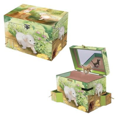 Girls Jewellery Boxes – Puppy Love | Children's Gifts