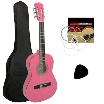 Jasmin Childrens 1/2 Size Classical Guitar Package ? Pink