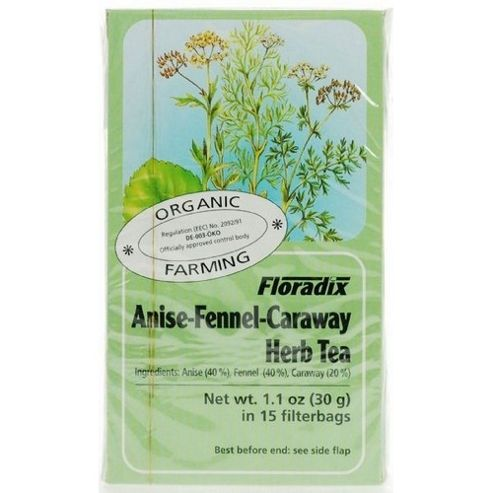 Anise-Fennel-Caraway Tea Bags