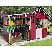 8 x 4 Basil Multiplay Playhouse 8ft x 4ft (2.44m x 1.22m)