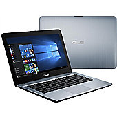 "ASUS VIVOBOOK 14"" Intel Pentium 4GB RAM 1000GB Windows 10 Slim Laptop Silver"