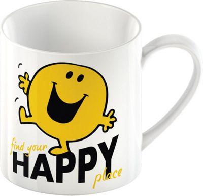 Mr. Men Mr. Happy Ceramic Mug by Creative Tops 5139335