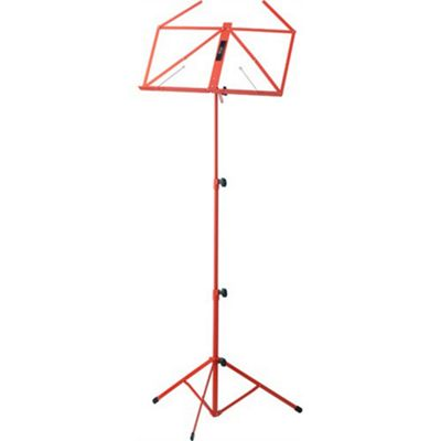 Stagg MUS-A3 Collapsible Music Stand - Red