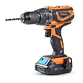 VonHaus Cordless Impact Combi Drill with 2.0Ah Li-ion 20V MAX Battery